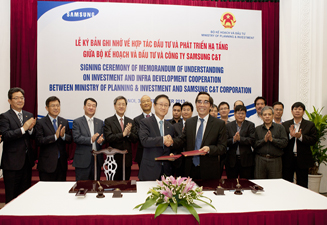Samsung Group Enters Strategic Partnership with Vietnam