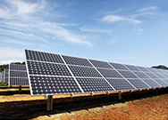 Won order for the California solar power plant project
