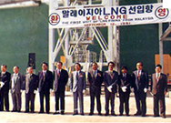 Began import of Malaysian LNG (first in Korea)