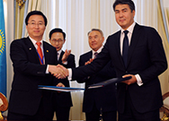 Signed IGA with Korean and Kazakhstani government for the Balkhash Thermal Power Plant Project