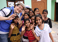 Held volunteer activities in India in 2011