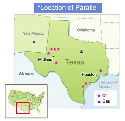 Parallel Produces Approximately 8 400 Barrels Of Oil And Gas Per Day And Has Approximately 69 Million Barrels In Reserves